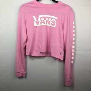 Vans crop long sleeve